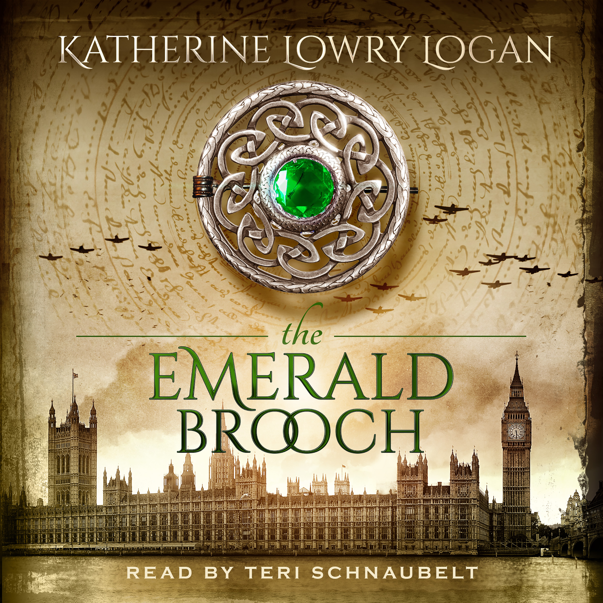 The Emerald Brooch audiobook by Katherine Lowry Logan