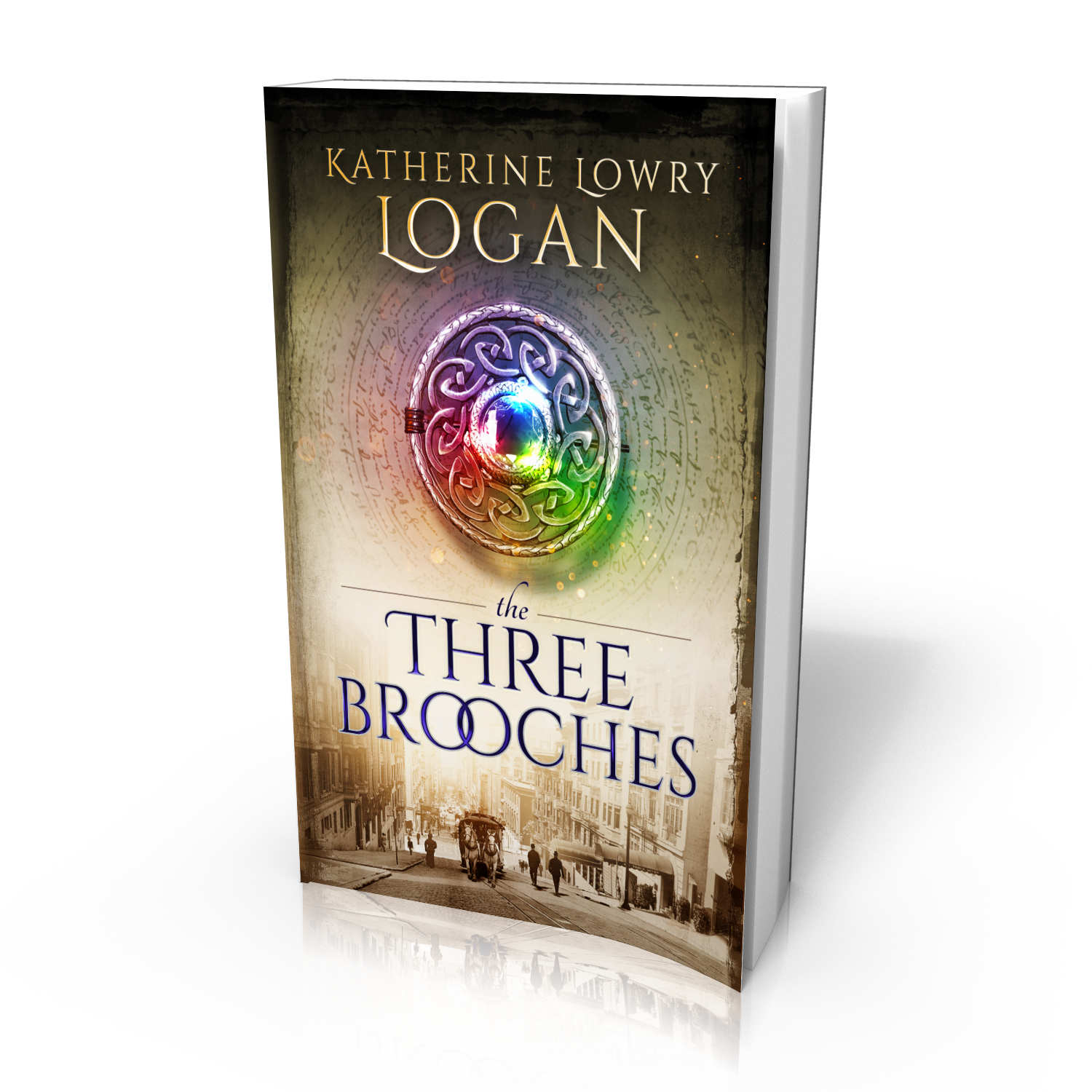 The Three Brooches Book Cover