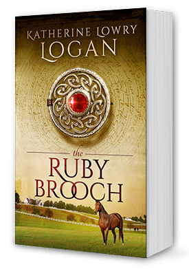 The Ruby Brooch Book Cover
