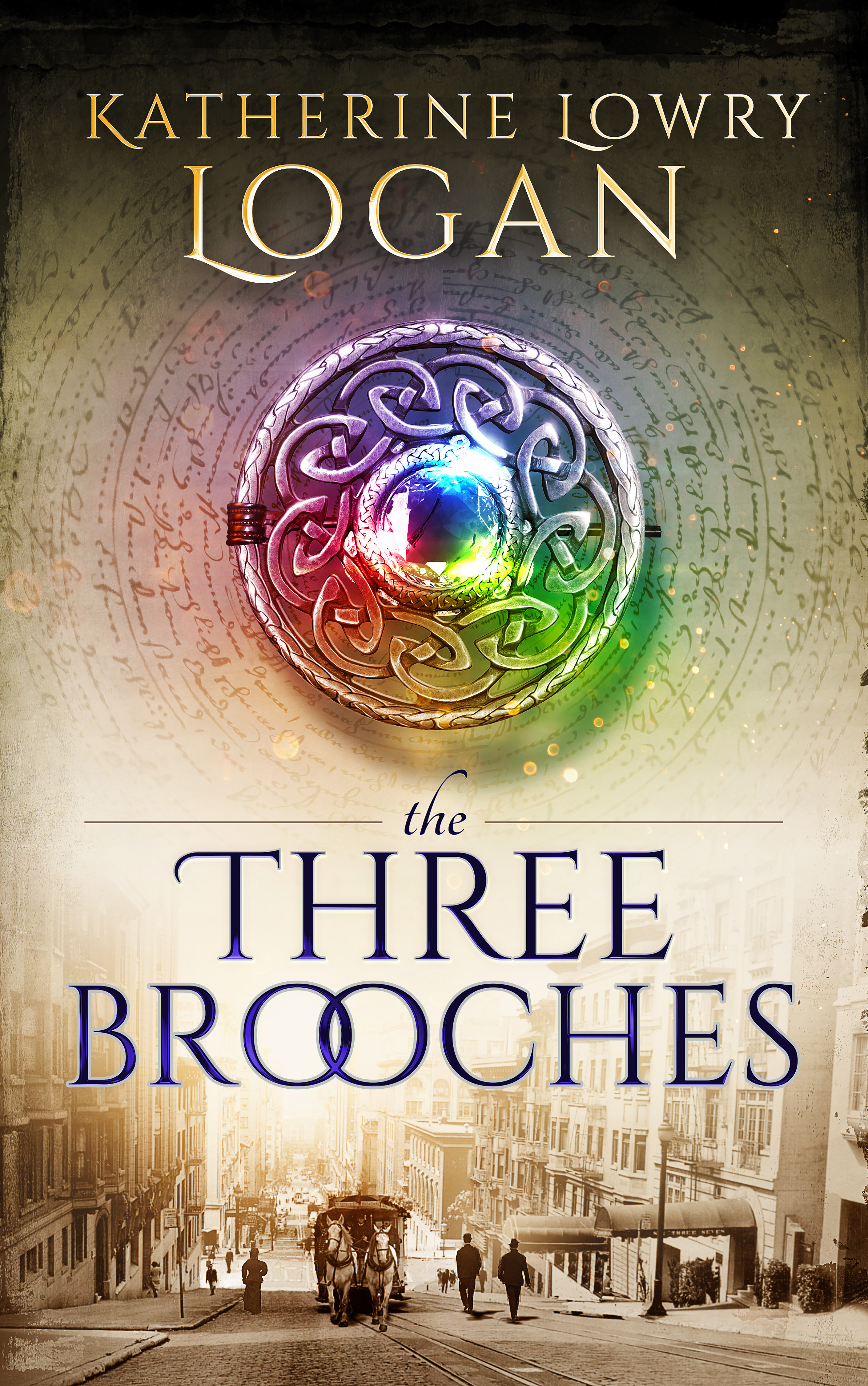 The Three Brooches - Ebook