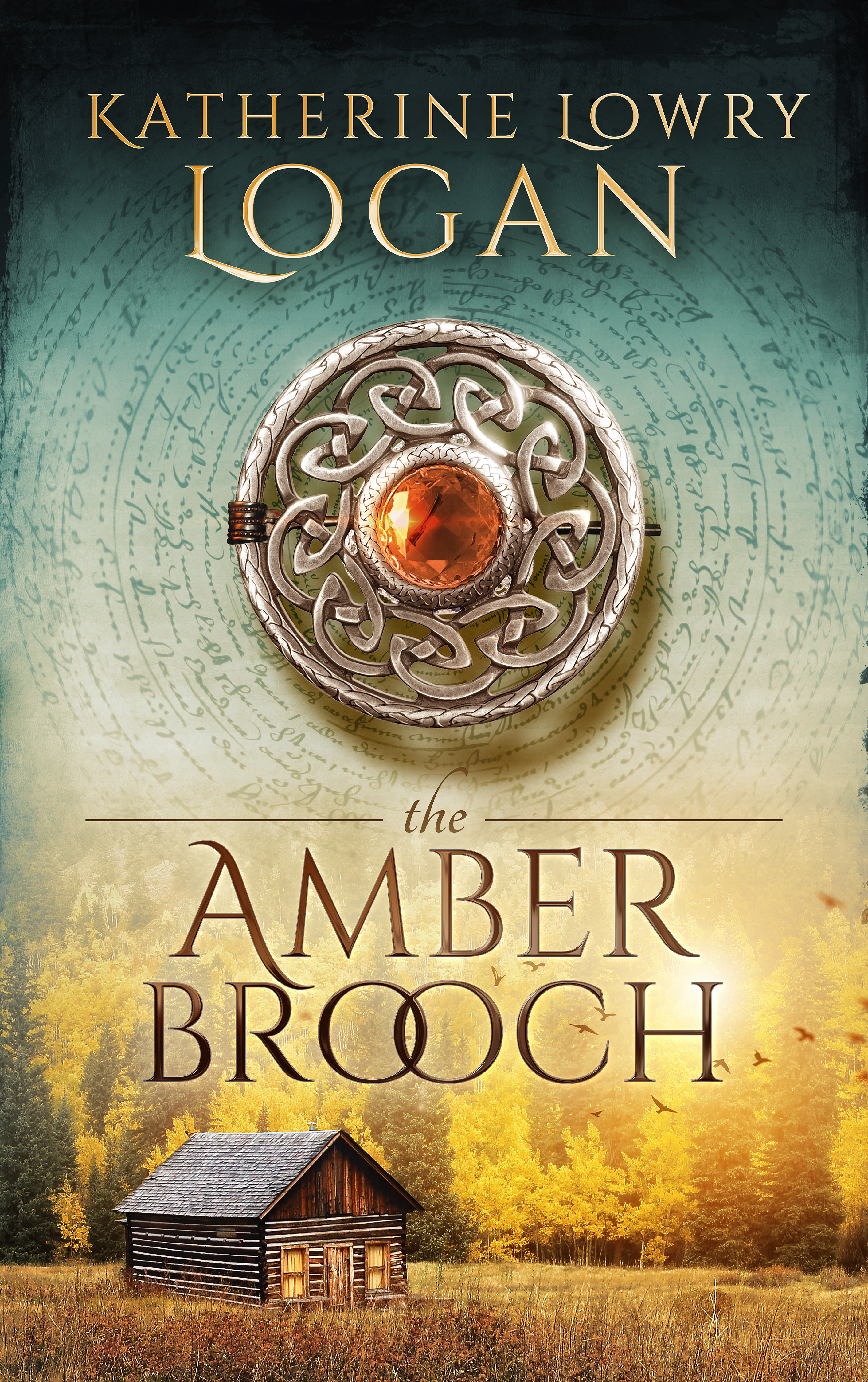 The Amber Brooch - Ebook